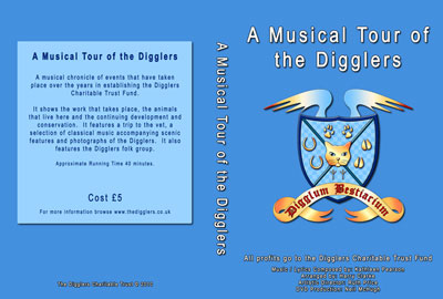 DVD A Musical Tour of the Digglers