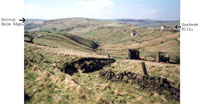 Photo8: The Kinderscout Grit area of Harrop Dale Edge and Hunters Hill.